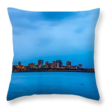 Milwaukee Skyline - Version 2 Throw Pillow