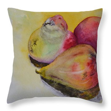 Mimi's Harvest Throw Pillow by Beverley Harper Tinsley