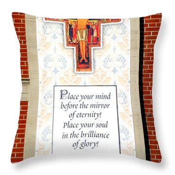 Mind And Soul Throw Pillow by Valentino Visentini