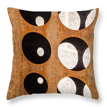 Throw Pillow featuring the photograph Mind - Contemplation by Steven Milner