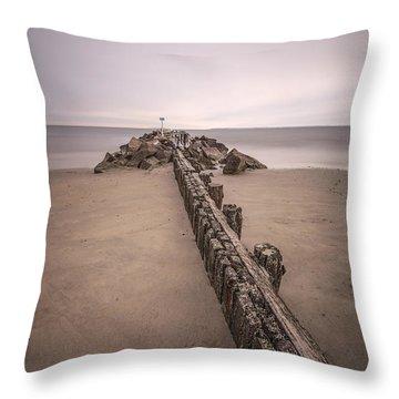 Mind Excursion Throw Pillow by Evelina Kremsdorf