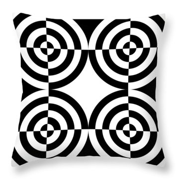 Mind Games 4 Throw Pillow by Mike McGlothlen
