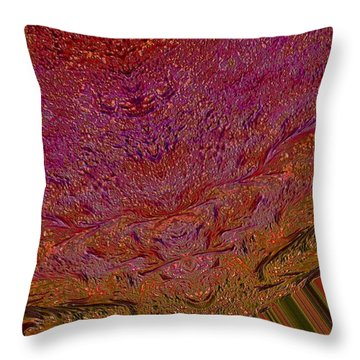 Mind Meld Throw Pillow by Jeff Swan