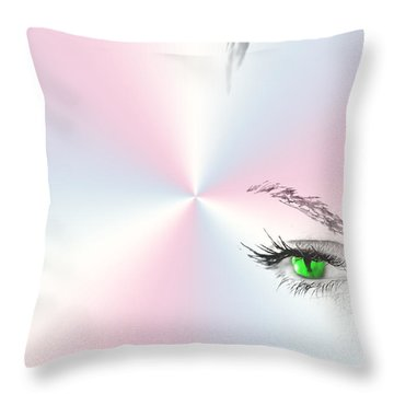 Mind Over Body Throw Pillow