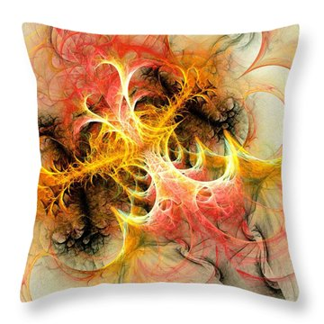 Mind Over Matter Throw Pillow by Anastasiya Malakhova