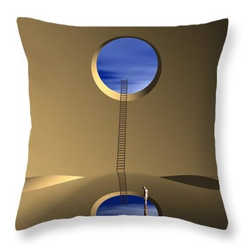 Mind Well Throw Pillow