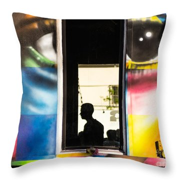Mind's Eye Throw Pillow