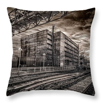 Mineola Station Throw Pillow