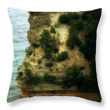 Miner's Castle 2.0 Throw Pillow