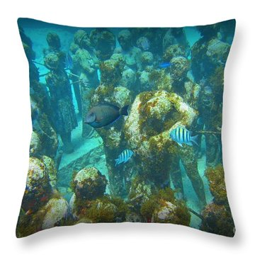 Mingling  Throw Pillow by Halifax Artist John Malone