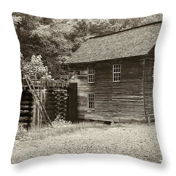 Mingus Mill Antiqued Throw Pillow