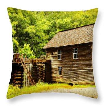 Mingus Mill Throw Pillow