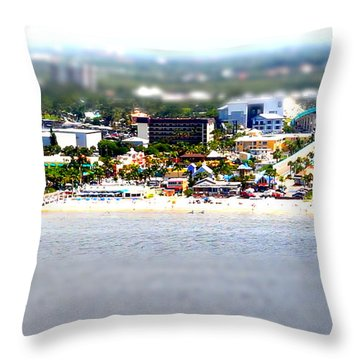 Mini Fmb Throw Pillow