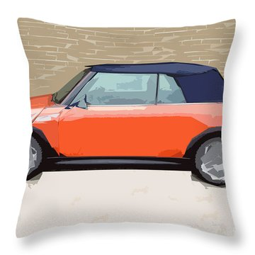 Mini Makeover Throw Pillow by Bruce Stanfield