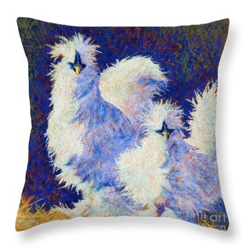 Mini Me Throw Pillow by Tracy L Teeter