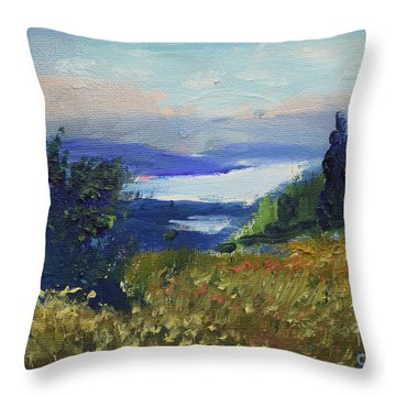 Miniature From Kavran Throw Pillow