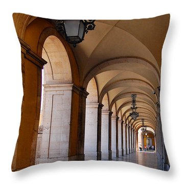 Ministerio Da Justica Throw Pillow