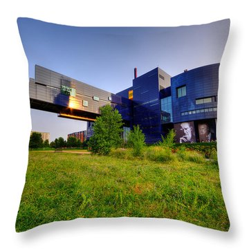 Minneapolis Guthrie Theater Summer Evening Throw Pillow