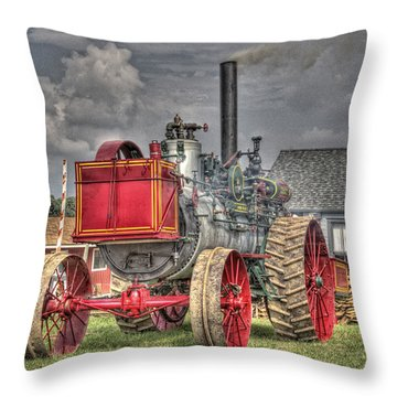 Minneapolis Return Flue  Throw Pillow by Shelly Gunderson
