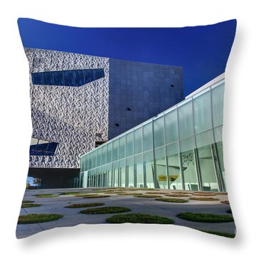 Minneapolis Skyline Photography Walker Art Museum Throw Pillow