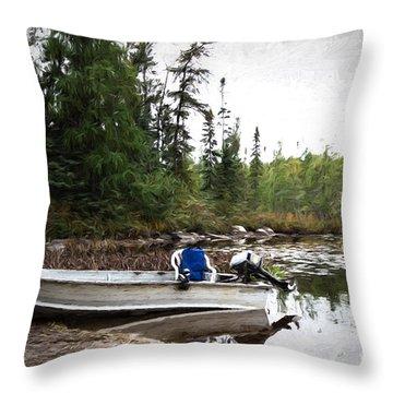 Minnesota Retreat Throw Pillow