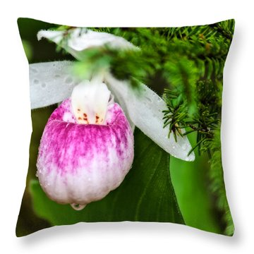Minnesota's Lady Throw Pillow