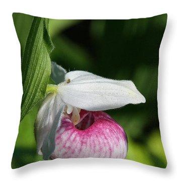 Minnesota's Wild Flower Throw Pillow