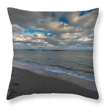 Minot Beach Throw Pillow