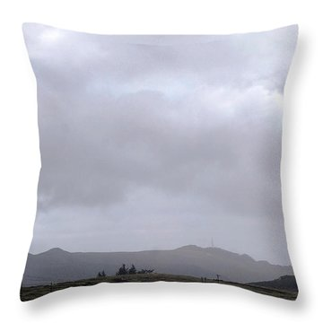 Minotaur Iv Lite Launch Throw Pillow by Science Source