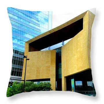 Mint Museum Charlotte Throw Pillow by Randall Weidner