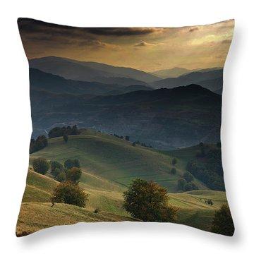 Romania Throw Pillows