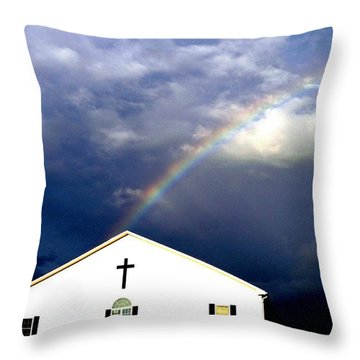 Miracle Birth Today Throw Pillow