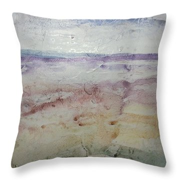 Mirage Throw Pillow by Barbara Tibbets