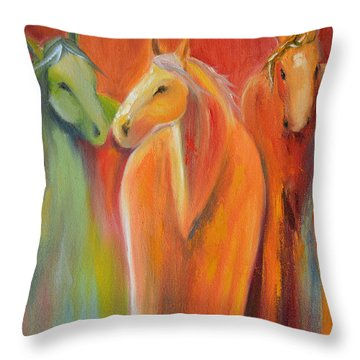 Mirage Throw Pillow by Cher Devereaux
