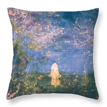 Mirage Throw Pillow by Judith Morris