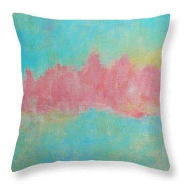 Mirage Throw Pillow by Kate Marion Lapierre