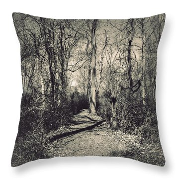 Mirkwood Throw Pillow by Jessica Brawley