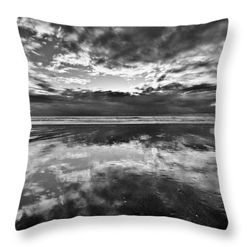 Mirror Explosion Throw Pillow