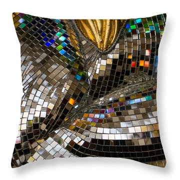 Throw Pillow featuring the photograph Mirror Mirror On A Horse by Glenn DiPaola
