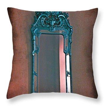 Mirror Mirror On The Wall... Throw Pillow