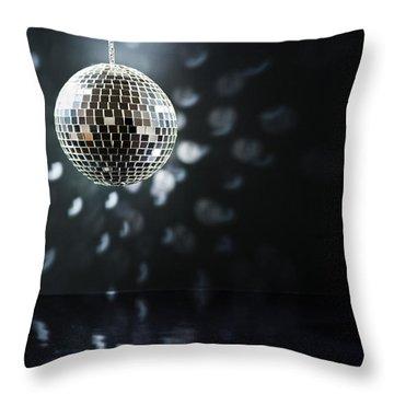 Mirrorball Throw Pillow