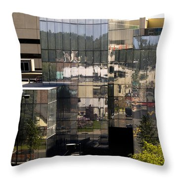 Mirroring  Throw Pillow