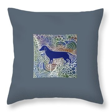 Dog Lovers Throw Pillow