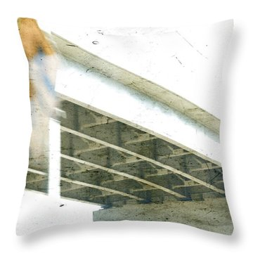 Misdirect Throw Pillow