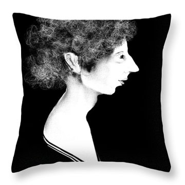 Miss Havisham Throw Pillow