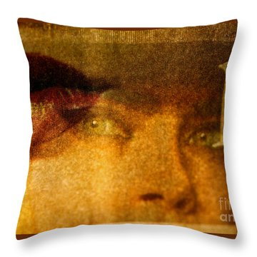 Miss P Throw Pillow