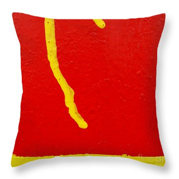 Throw Pillow featuring the photograph Missile Command by CML Brown