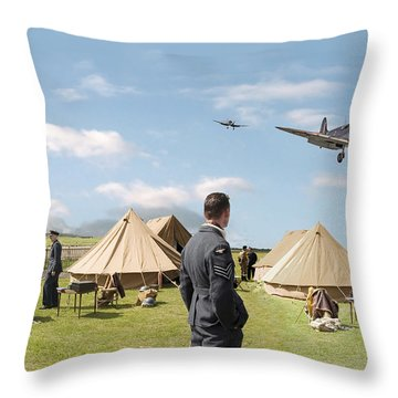 Missing Throw Pillow by Pat Speirs