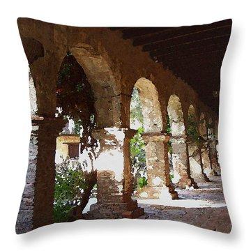 Mission 2 Throw Pillow by David Hansen