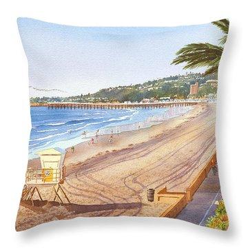 Palm Throw Pillows
